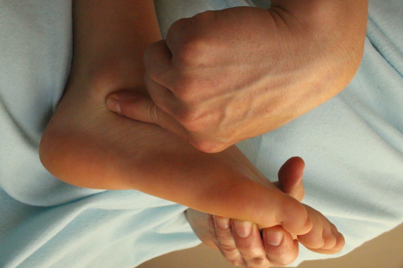 Behandlung des Fuß- und Sprunggelenkes
